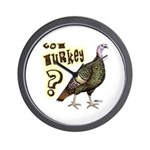 Got Turkey? Wall Clock