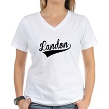 Landon, Retro, T-Shirt