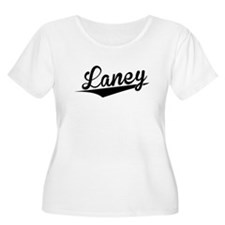 Laney, Retro, Plus Size T-Shirt