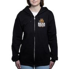 Bear Down Midterms Women's Zip Hoodie