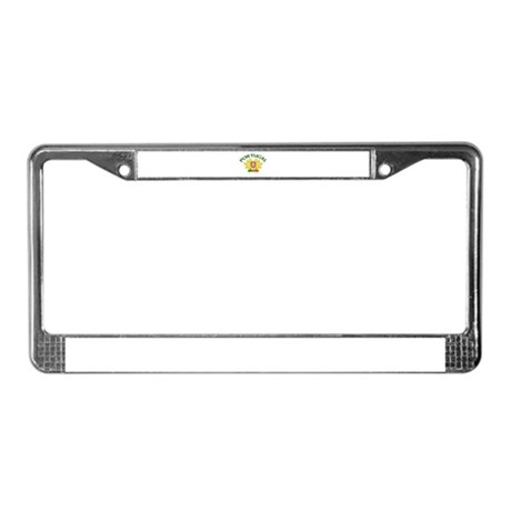 Portugal Coat of Arms License Plate Frame