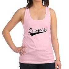 Laurence, Retro, Racerback Tank Top
