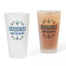 Grandmas Sparkle Drinking Glass