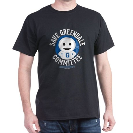 Save Greendale Committee Dark T-Shirt