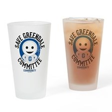 Save Greendale Committee Drinking Glass