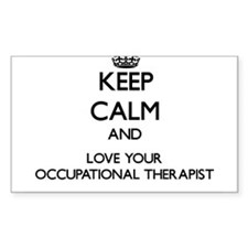 Keep Calm and Love your Occupational Therapist Sti