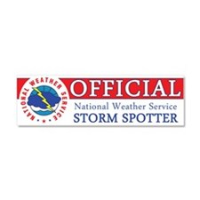 Cute National weather service Car Magnet 10 x 3