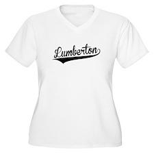 Lumberton, Retro, Plus Size T-Shirt