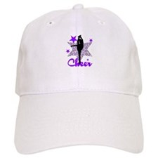 Purple Cheerleader Baseball Cap