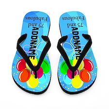 Fabulous 75th Flip Flops