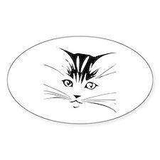 Cat face Decal
