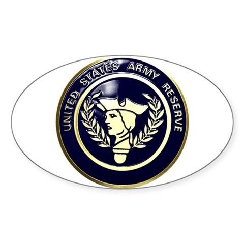 USA Reserve Logo Sticker (Oval)