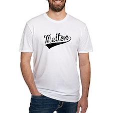 Melton, Retro, T-Shirt
