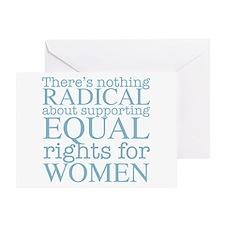 Radical Women Greeting Card