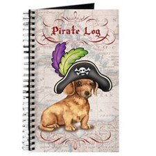 Dachshund Pirate Journal