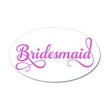 Bridesmaid Wall Decal