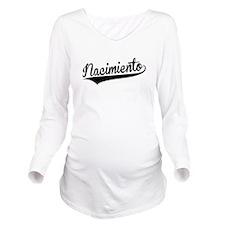 Nacimiento, Retro, Long Sleeve Maternity T-Shirt