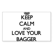 Keep Calm and Love your Bagger Decal