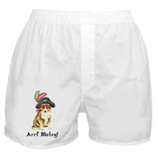 Sheltie Pirate Boxer Shorts