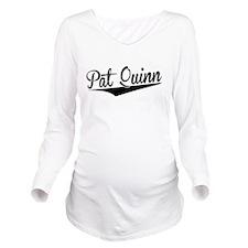 Pat Quinn, Retro, Long Sleeve Maternity T-Shirt