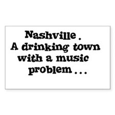 Nashville. A drinking town with a music problem St