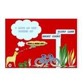 Cute Have a great day Postcards (Package of 8)