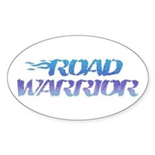 ROAD WARRIOR Oval Decal
