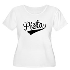 Pieta, Retro, Plus Size T-Shirt