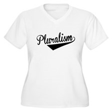 Pluralism, Retro, Plus Size T-Shirt