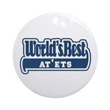 WB Dad [Russian] Ornament (Round)
