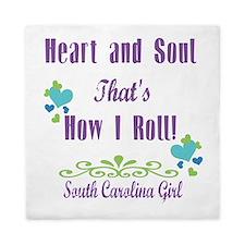 South Carolina Girl Queen Duvet