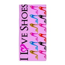Love Shoes Beach Towel