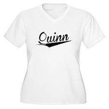Quinn, Retro, Plus Size T-Shirt