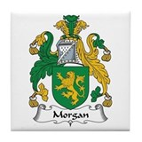 Morgan III (Wales) Tile Coaster