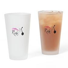 singers Rock Drinking Glass
