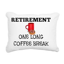 Retirement - One Long Co Rectangular Canvas Pillow