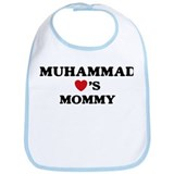 Muhammad loves mommy Bib