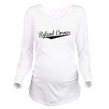 Ryland Corner, Retro, Long Sleeve Maternity T-Shir