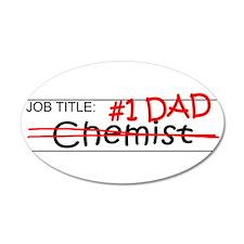 Job Dad Chemist Wall Decal