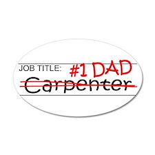 Job Dad Carpenter Wall Decal