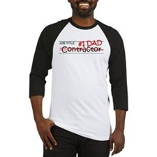 Job Dad Contractor Baseball Jersey