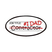 Job Dad Contractor Patches