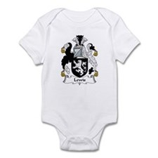 Lewis I (Wales) Infant Bodysuit