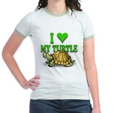 Ringer Turtle Love T-shirt