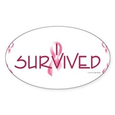 Cute Breast cancer survivor Decal