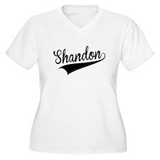 Shandon, Retro, Plus Size T-Shirt