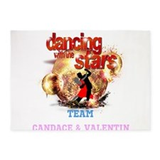 Dancing with the Stars Disco Balls Crashing 5'x7'A
