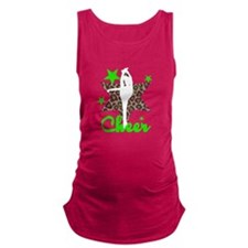 Green Cheerleader Maternity Tank Top
