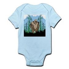 Bigfoot in timber Infant Bodysuit
