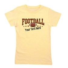 Football Personalized Girl's Tee
